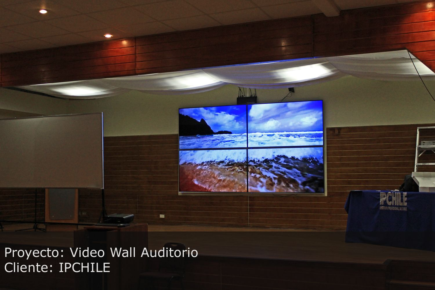 video wall auditorio